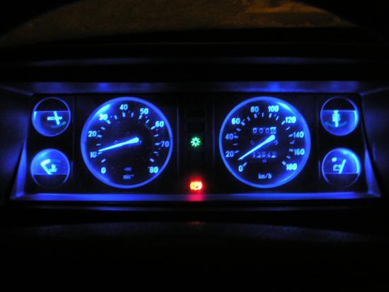 Доработка освещения приборов 2107