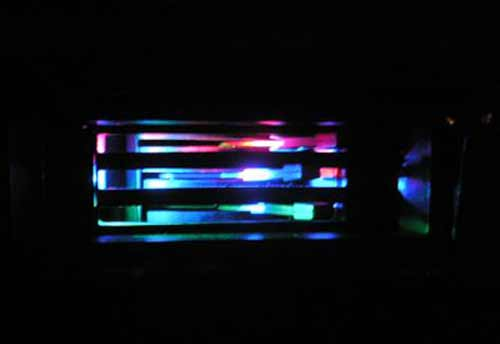 Подсветка панели управления печкой